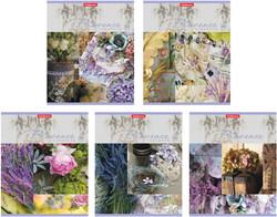 Тетрадь 96 листов в клетку. Provence lavender 40097