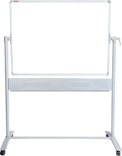 Магнитно-маркерная доска ErichKrause® с лаковым покрытием, на передвижной стойке, 90х60см 40401