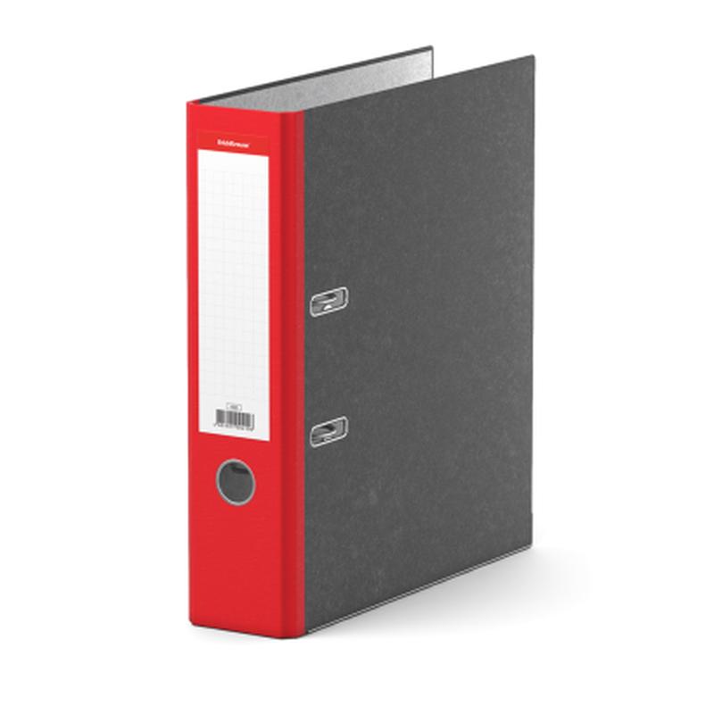 Папка–регистратор с арочным механизмом ErichKrause®, Original, А4, 70 мм, красный 410