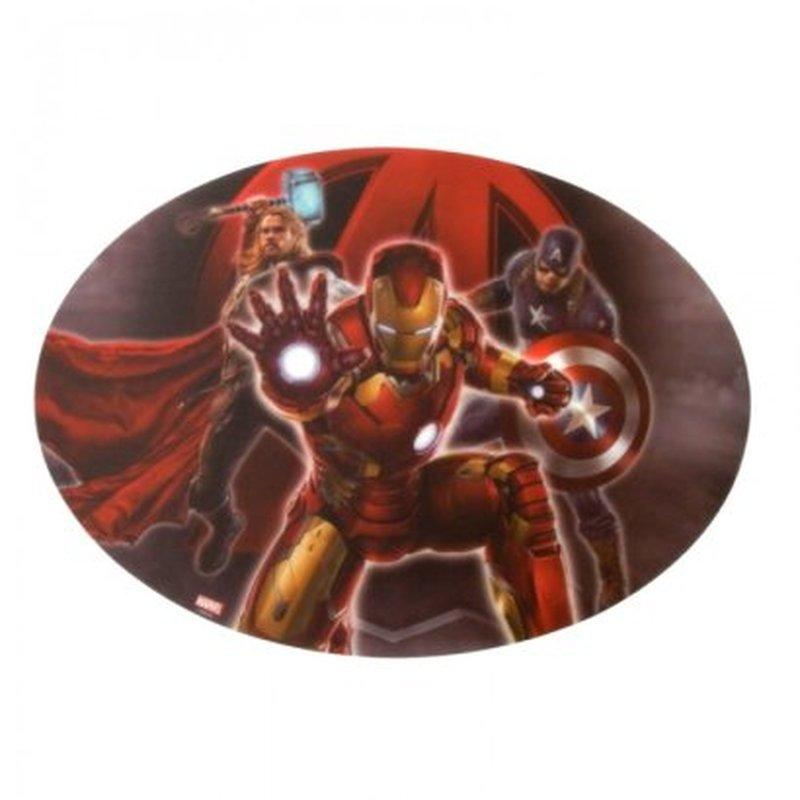 Подкладка настольная фигурная Мстители-2. 41119