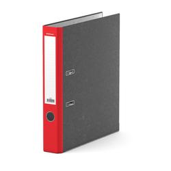 Папка–регистратор с арочным механизмом ErichKrause®, Original, А4, 50 мм, красный 415