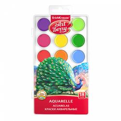 Краски акварельные ArtBerry 18 цветов с УФ защитой яркости 41725
