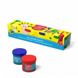 Гелевые пальчиковые краски ArtBerry® с Алоэ Вера, 4 цвета по 100мл 41753
