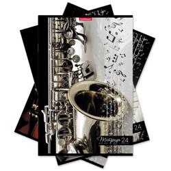 Тетрадь для нот на скобе ErichKrause® Мелодия, А4, 24 листа 42961