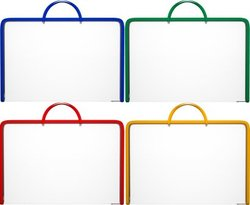 Папка пластиковая на молнии с ручками ErichKrause® Glance Clear, A3 43025