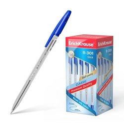 Ручка шариковая ErichKrause® R-301 Classic Stick 1.0, цвет чернил синий 43184