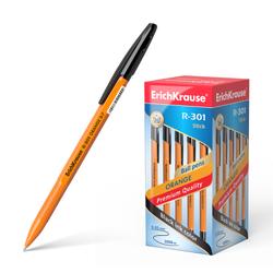 Ручка шариковая ErichKrause® R-301 Orange Stick 0.7, цвет чернил черный (в коробке по 50 шт.) 43195