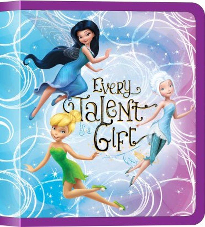 Папка пластиковая на молнии  ErichKrause®  Феи Disney: цветочное приключение, B5 43284
