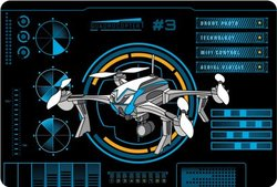 Подкладка настольная А3 Quadrocopters. 43324