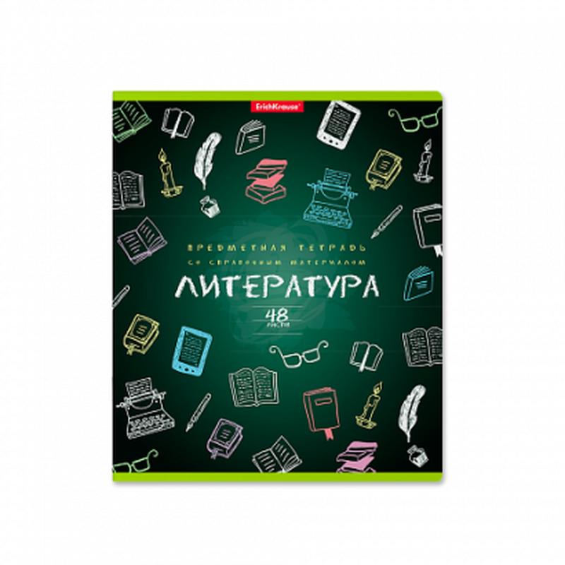 Тетрадь предметная ученическая,48л К доске! Литература 43585