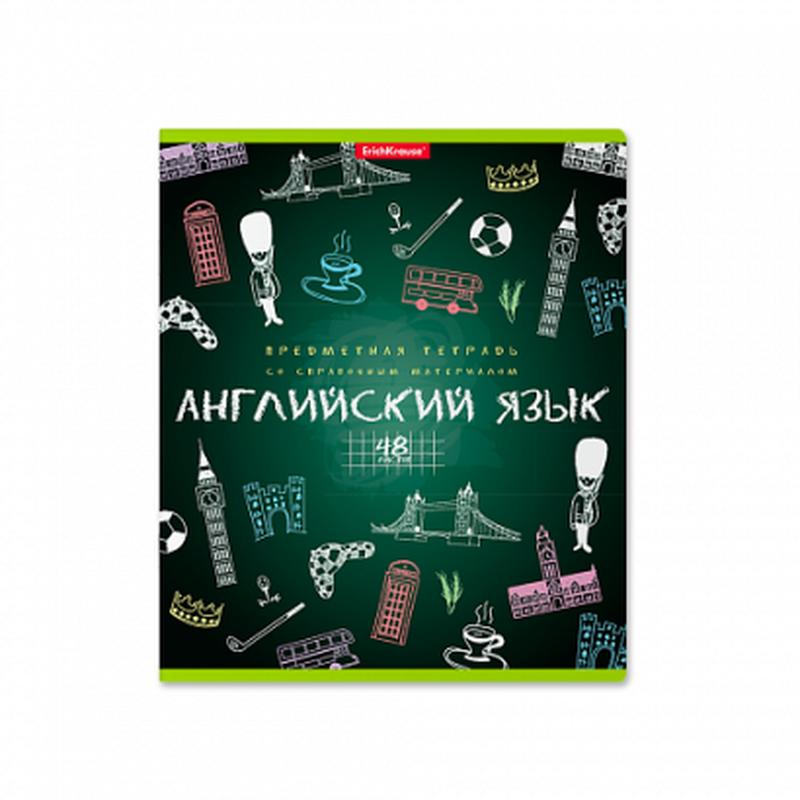 Тетрадь предметная ученическая,48л К доске! Английский язык 43594
