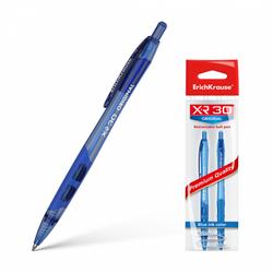 Ручка шариковая автоматическая ErichKrause® XR-30 Original, цвет чернил синий (в пакете по 2 шт.) 43620