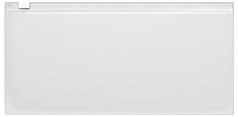 ZIP-пакет пластиковый ErichKrause® Fizzy, Travel 255*130*0,14, прозрачный 44421