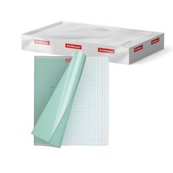 Обложки пластиковые ErichKrause® для тетрадей и дневников, 212х347мм, 0.05мм 44425