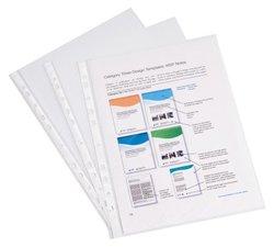 Перфофайл пластиковый ErichKrause® Semi-Clear Economy, A4, прозрачный (в пакете по 10 шт.) 44864
