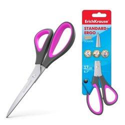 Ножницы ErichKrause® Standard+ Ergo, 17см (блистер) 44885