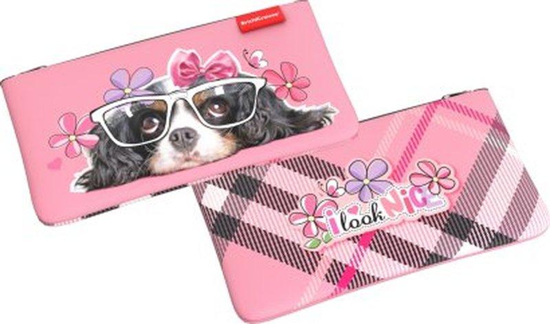 Пенал конверт ErichKrause® 207*114 мм Clever Dog 44930