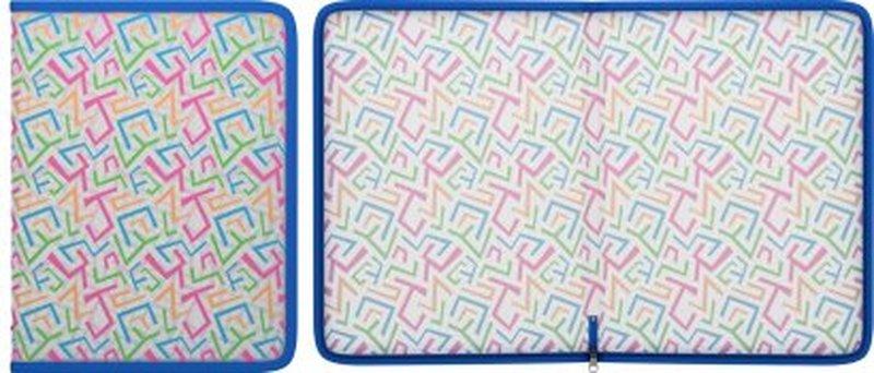 Папка для тетрадей на молнии пластиковая ErichKrause® Lines, A4 45343, 47088, 50359
