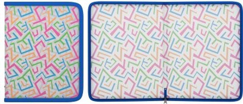 Папка для тетрадей на молнии пластиковая ErichKrause® Lines, A5+ 45344, 47089, 50360
