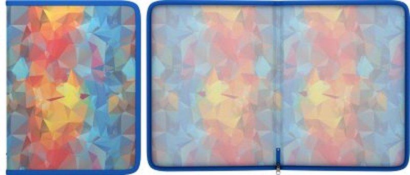 Папка для тетрадей на молнии пластиковая ErichKrause® Dynamique, A4 45383, 47100, 50365