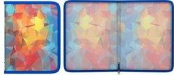 Папка для тетрадей на молнии пластиковая ErichKrause® Dynamique, A5+ 45384, 47101, 50366