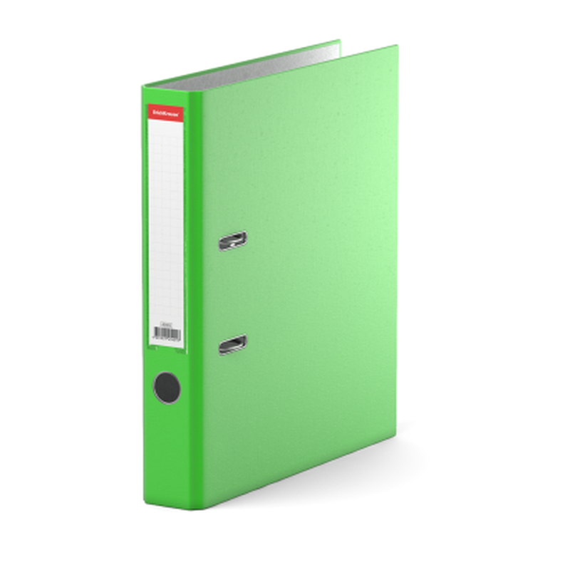 Папка–регистратор с арочным механизмом разборная ErichKrause®, Neon, А4, 50 мм, зеленый 45401