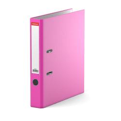 Папка–регистратор с арочным механизмом разборная ErichKrause®, Neon, А4, 50 мм, розовый 45403