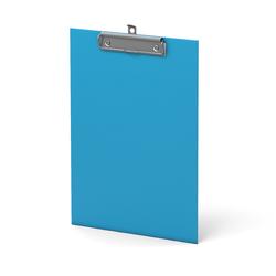 Планшет с зажимом ErichKrause®, Neon, А4, голубой 45408