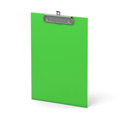 Планшет с зажимом ErichKrause®, Neon, А4, зеленый 45409