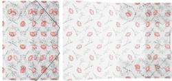 Папка на резинках пластиковая  ErichKrause® Bonjour, A4 45443