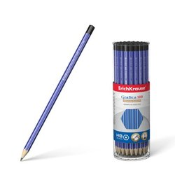 Чернографитный шестигранный карандаш ErichKrause® Grafica 100 HB 45483