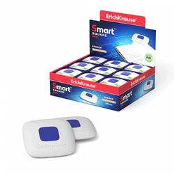 Ластик с пластиковым держателем ErichKrause® Smart Mini Square (в пакете с европодвесом) 45554