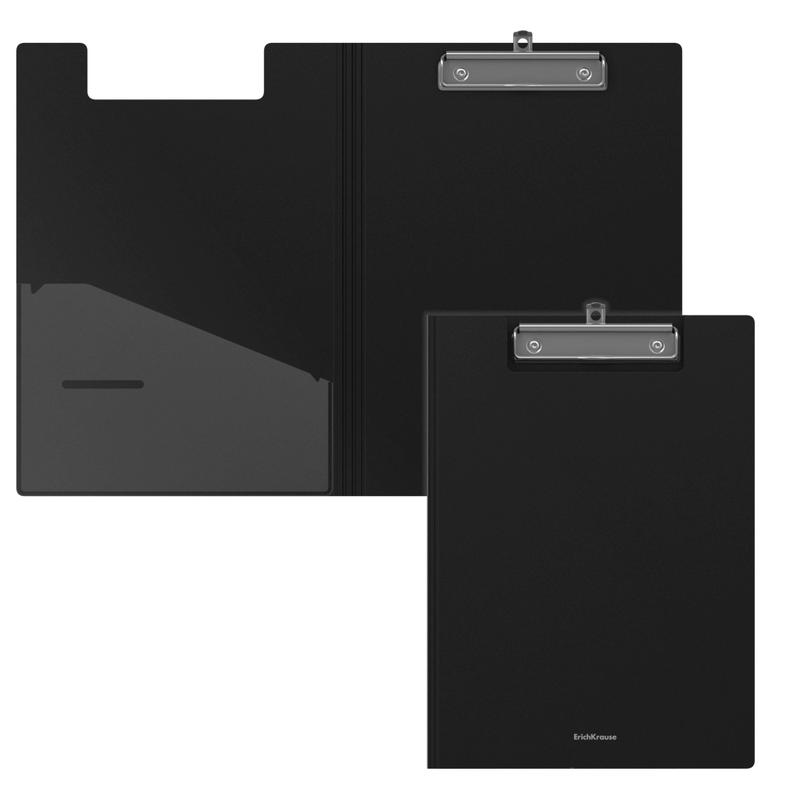 Папка-планшет пластиковая ErichKrause® Classic, A4, черный 45981