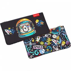 Пенал конверт ErichKrause® 207x114мм Space Bear 46228