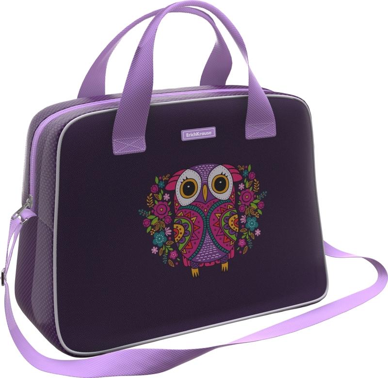 Сумка для спорта и путешествий ErichKrause® 21L Flower Owl 46254