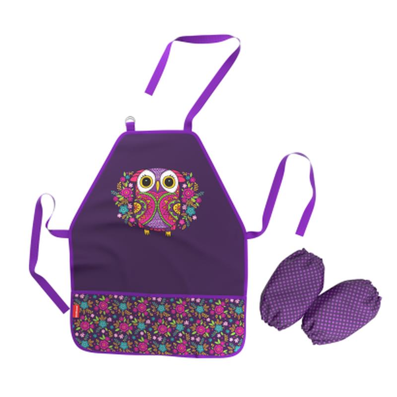 Фартук с нарукавниками ErichKrause® Flower Owl 46255