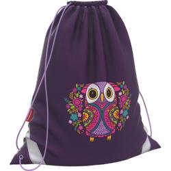 Мешок для обуви ErichKrause® 365x440мм Flower Owl 46256