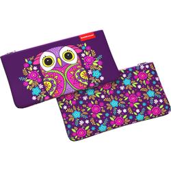 Пенал конверт ErichKrause® 207x114мм Flower Owl 46261