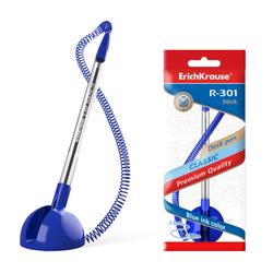 Ручка шариковая ErichKrause® R-301 Desk Pen 1.0, цвет чернил синий (в пакете по 1 шт.) 46434