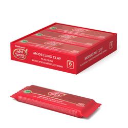 Классический пластилин ArtBerry® с Алоэ Вера 150г красный 46450