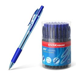 Ручка шариковая автоматическая ErichKrause® JOY® Original, Ultra Glide Technology, цвет  чернил синий 46522