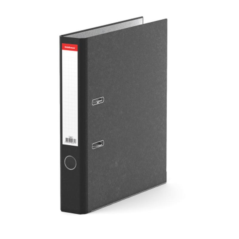Папка–регистратор с арочным механизмом ErichKrause®, Original, А4, 50 мм, черный 4671