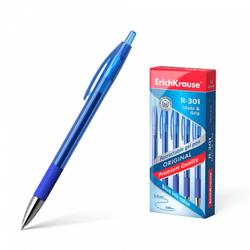 Ручка гелевая автоматическая ErichKrause® R-301 Original Gel Matic&Grip, цвет чернил синий (в коробке по 12 шт.) 46814