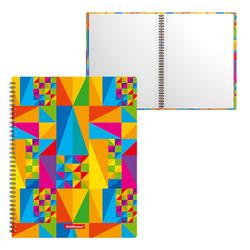 Папка файловая пластиковая на спирали ErichKrause® Arlecchino, с 20 прозрачными карманами, 47001