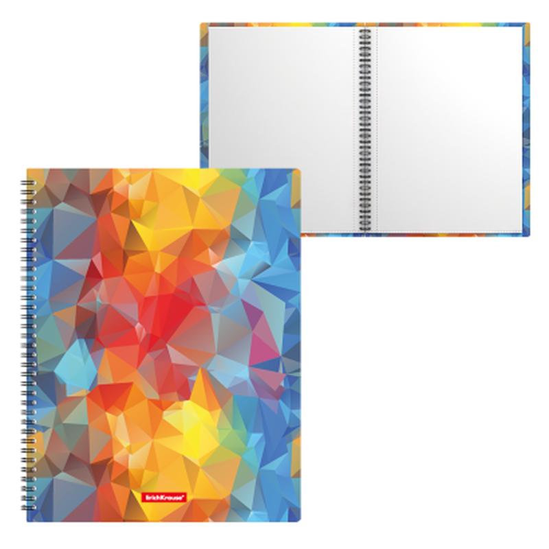 Папка файловая пластиковая на спирали ErichKrause® Dynamique, с 20 прозрачными карманами, A4 47003