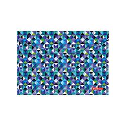 Папка-конверт на кнопке пластиковая  ErichKrause® Cubes, A4 47065