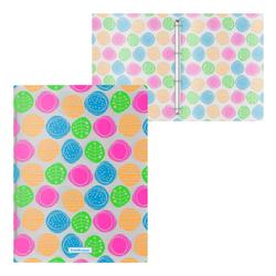 Папка на 4 кольцах пластиковая  ErichKrause® Buttons, 24мм, A4 45349, 47148