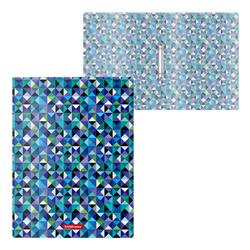 Папка на 2 кольцах пластиковая  ErichKrause® Сubes, 24мм, A4 47154