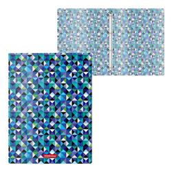 Папка на 4 кольцах пластиковая  ErichKrause® Сubes, 24мм, A4 47155