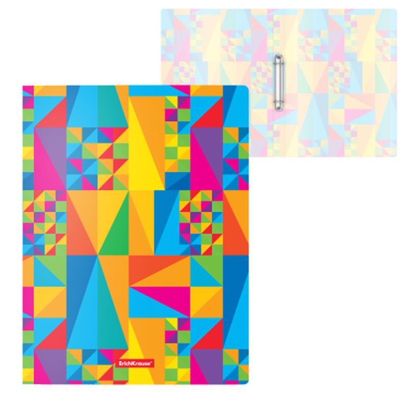 Папка на 2 кольцах пластиковая  ErichKrause® Arlecchino, 24мм, A4 47156